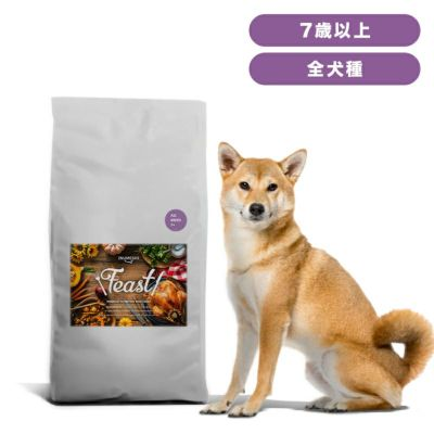 INUMESHI フィースト シニア用 全犬種用 7歳以上 15kg ブリーダーパック