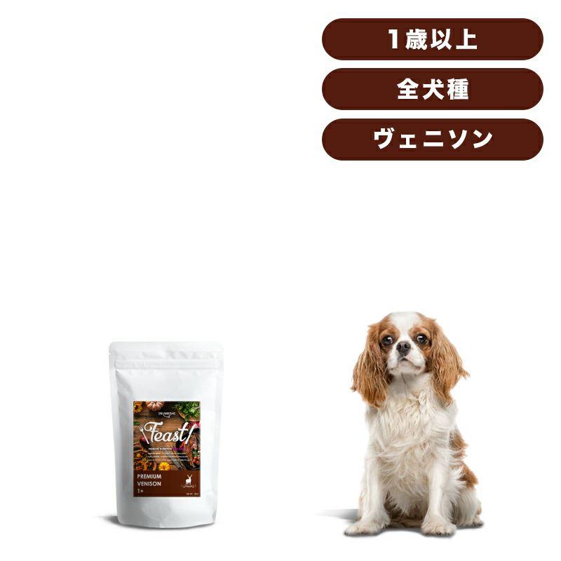 INUMESHI フィースト プレミアム ヴェニソン 成犬用 全犬種用 1歳以上 1kg